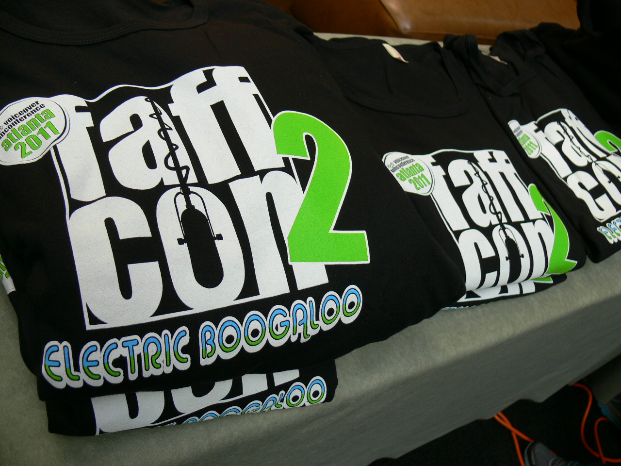 FaffCon 2 T-shirts