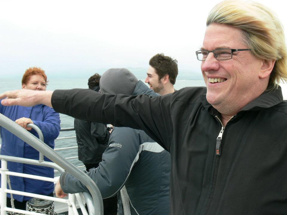 Steve Savanyo does the Titanic thing
